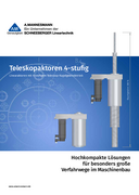 AM 4-Stage Telescopic Actuators - Product Catalog of A.MANNESMANN