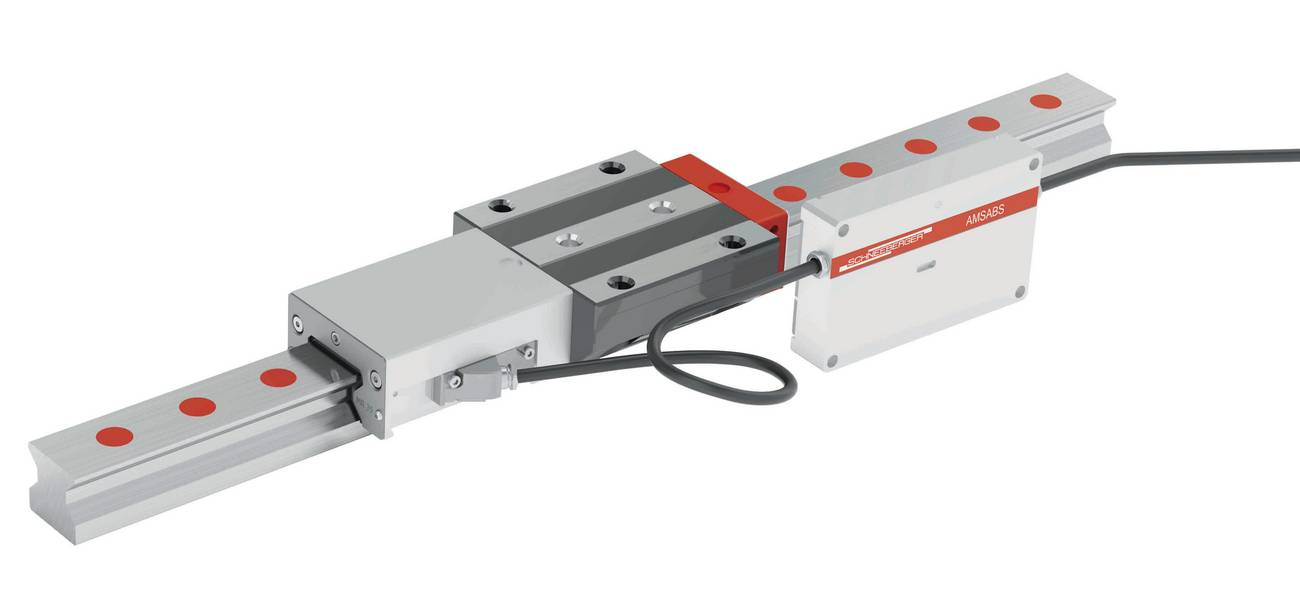 MONORAIL AMS: precise distance measurement of up to 6 meters or more