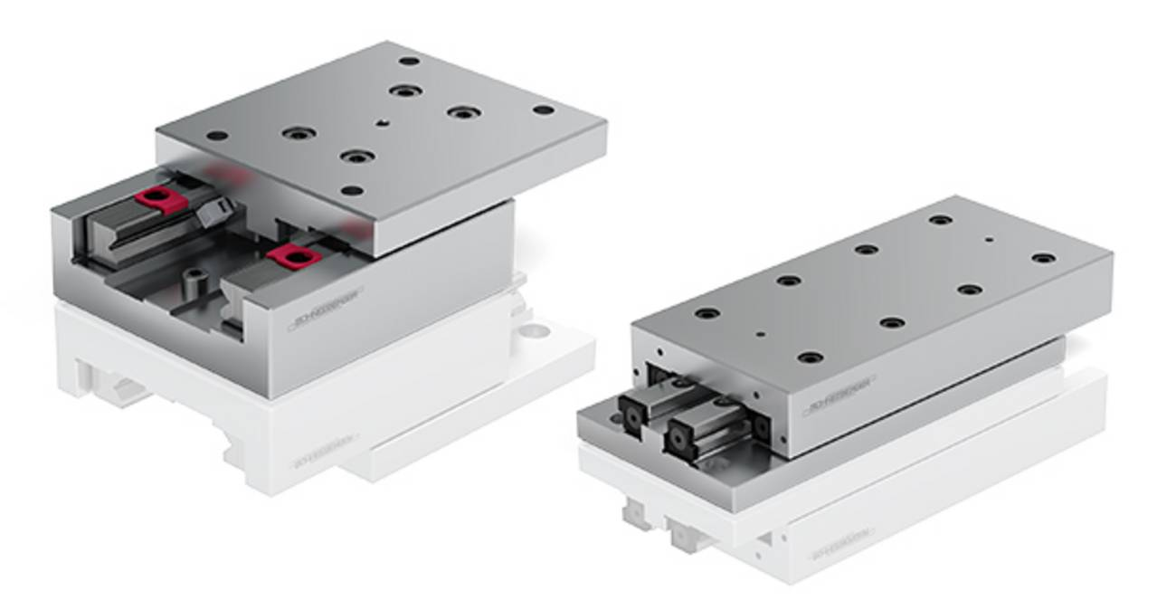 SCHNEEBERGER slides - maximum accuracy and reliability