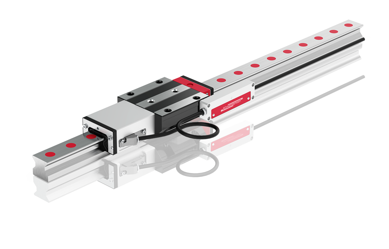 SCHNEEBERGER MONORAIL AMS – Distance measurement up to 6 meters or more