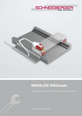 MINISLIDE MSQscale - Mounting instructions