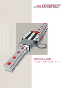MONORAIL and AMS - Product catalog - Profiled guideways and integrated measuring systems