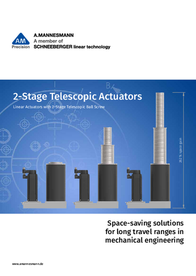 AM 2-Stage Telescopic Actuators - Product Catalog of A.MANNESMANN