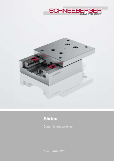 Slides - Product catalog - Dynamic and Precise