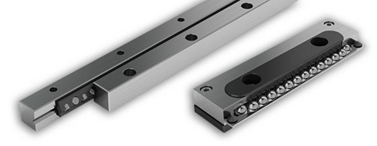 Linear bearings, cross-rollers and ball guideways - linear motion technology