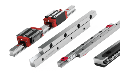 Linear bearing and profiled guideways